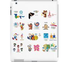 olimpic games mascots juegos olímpicos mascotas sports iPad Case/Skin