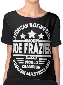 Smokin Joe Frazier Women's Chiffon Top