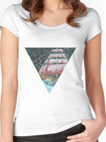 dreamboat Women's Fitted Scoop T-Shirt