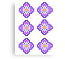 Violet Violet Canvas Print