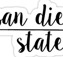 San Diego State Sticker