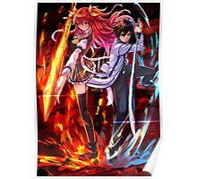 Anime: Rakudai Kishi no Cavalry Poster
