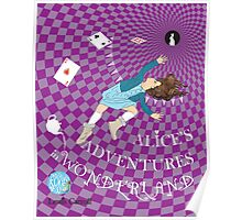 Alice's Adventures in Wonderland - illustrated by Sally Barnett Poster