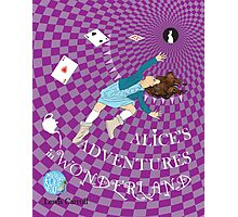 Alice's Adventures in Wonderland - illustrated by Sally Barnett Photographic Print