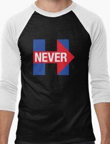 NEVER HILLARY Men's Baseball ¾ T-Shirt