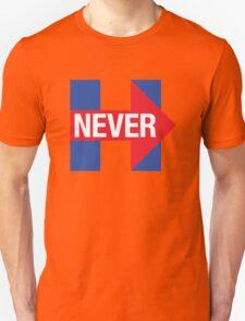 NEVER HILLARY T-Shirt