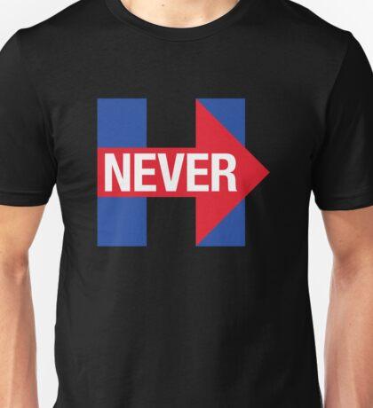 NEVER HILLARY Unisex T-Shirt