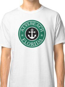 ALYS BEACH, FLORIDA ANCHOR VACATION COFFEE STYLE STICKER Classic T-Shirt