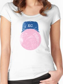 Bubble KC Women's Fitted Scoop T-Shirt