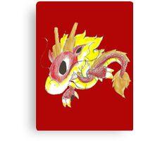 Playful Fire Hatchling Canvas Print
