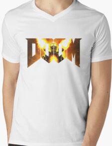 Doom new Mens V-Neck T-Shirt