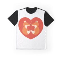 Lovers foxes. Graphic T-Shirt