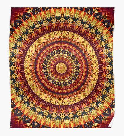 Mandala 016 Poster