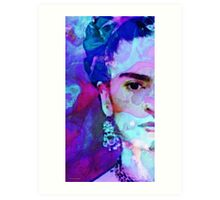 Dreaming Of Frida - Art By Sharon Cummings Art Print