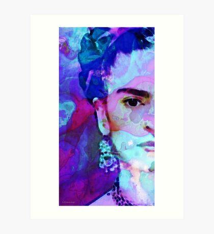Dreaming Of Frida - Art By Sharon Cummings Art Print