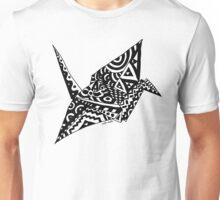 Paper Crane Origami Doodle Unisex T-Shirt