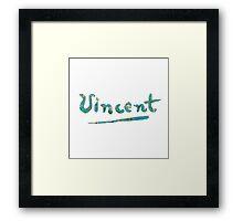 Vincent - Almond Blossom Framed Print