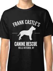 Frank Castle - Dog Rescue Classic T-Shirt