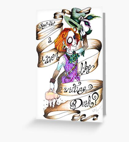 Hatter Greeting Card