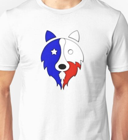 Solid Lone Star Collie Unisex T-Shirt