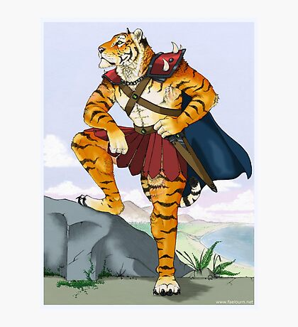 ..:: TigerWarrior ::.. Photographic Print