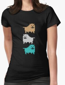 UNDERTALE - DOG Womens Fitted T-Shirt