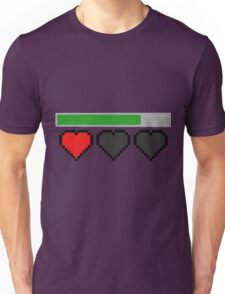 Last Life Retro Hearts Unisex T-Shirt