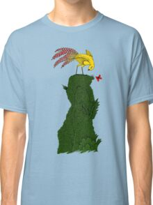 Mythical bird on Mountain top Classic T-Shirt
