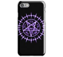 Ciel's Contract Mark iPhone Case/Skin