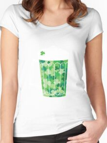 Clover Beer Women's Fitted Scoop T-Shirt
