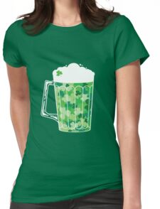 Clover Beer Womens Fitted T-Shirt