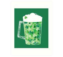 Clover Beer Art Print