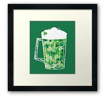 Clover Beer Framed Print