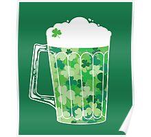 Clover Beer Poster