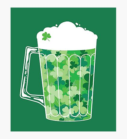 Clover Beer Photographic Print