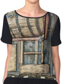 Steampunk Brewery Chiffon Top