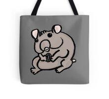 Hungry Hamster Tote Bag