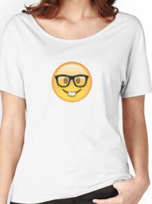 Nerd Emoji Women's Relaxed Fit T-Shirt