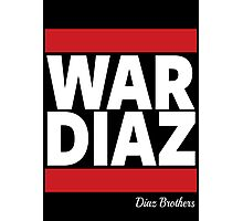 War Diaz Photographic Print