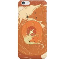 Foxes iPhone Case/Skin