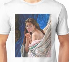 Portrait of a Young Woman after Pierre Auguste Cot Unisex T-Shirt