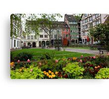 Spring in Strasbourg Canvas Print