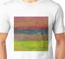 Abstract Landscape Series - Lake And Hills Unisex T-Shirt
