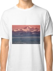 Majestic Mt Baker and downtown Vancouver Classic T-Shirt