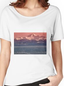 Majestic Mt Baker and downtown Vancouver Women's Relaxed Fit T-Shirt