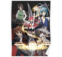 Shinmai Maou no Testament Manga Poster