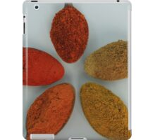 Colorful Spices on Spoons iPad Case/Skin