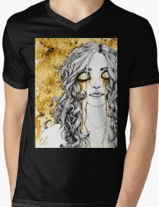 Coffee Tears Mens V-Neck T-Shirt