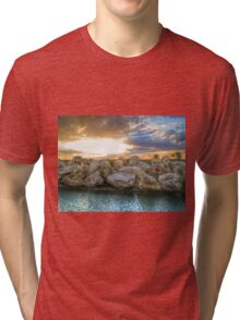 After the storm HDR Tri-blend T-Shirt