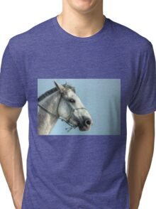 White horse Tri-blend T-Shirt